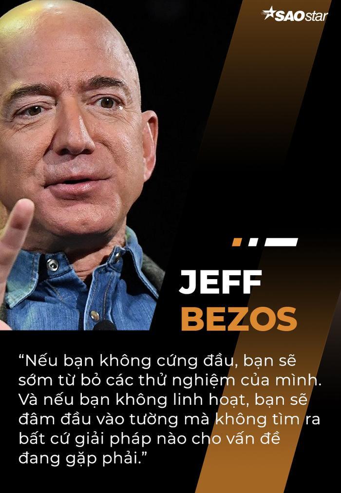 10 câu nói truyền cảm hứng của tỷ phú giàu nhất thế giới Jeff Bezos Ảnh 8