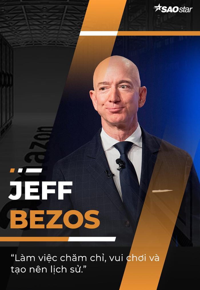 10 câu nói truyền cảm hứng của tỷ phú giàu nhất thế giới Jeff Bezos Ảnh 10