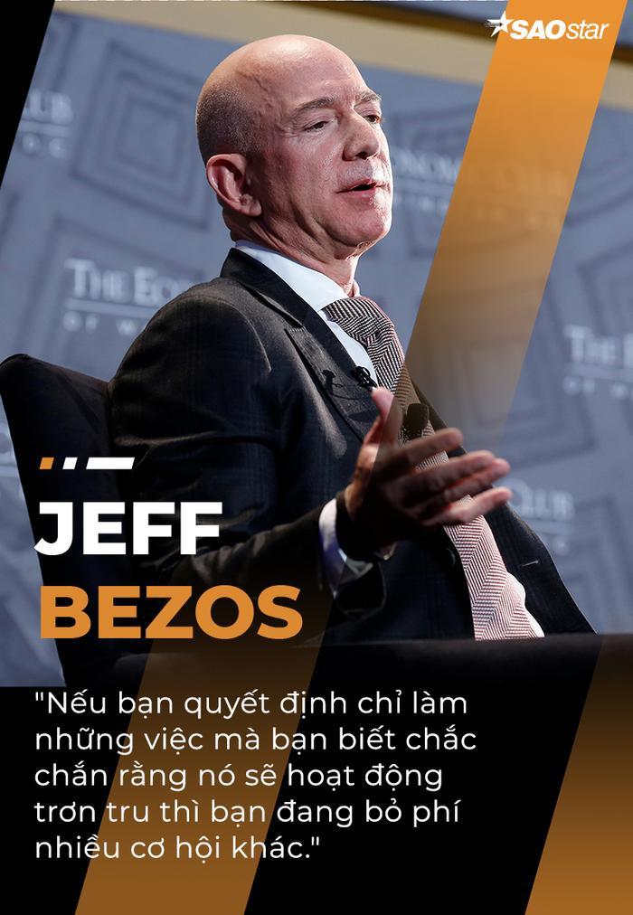 10 câu nói truyền cảm hứng của tỷ phú giàu nhất thế giới Jeff Bezos Ảnh 3