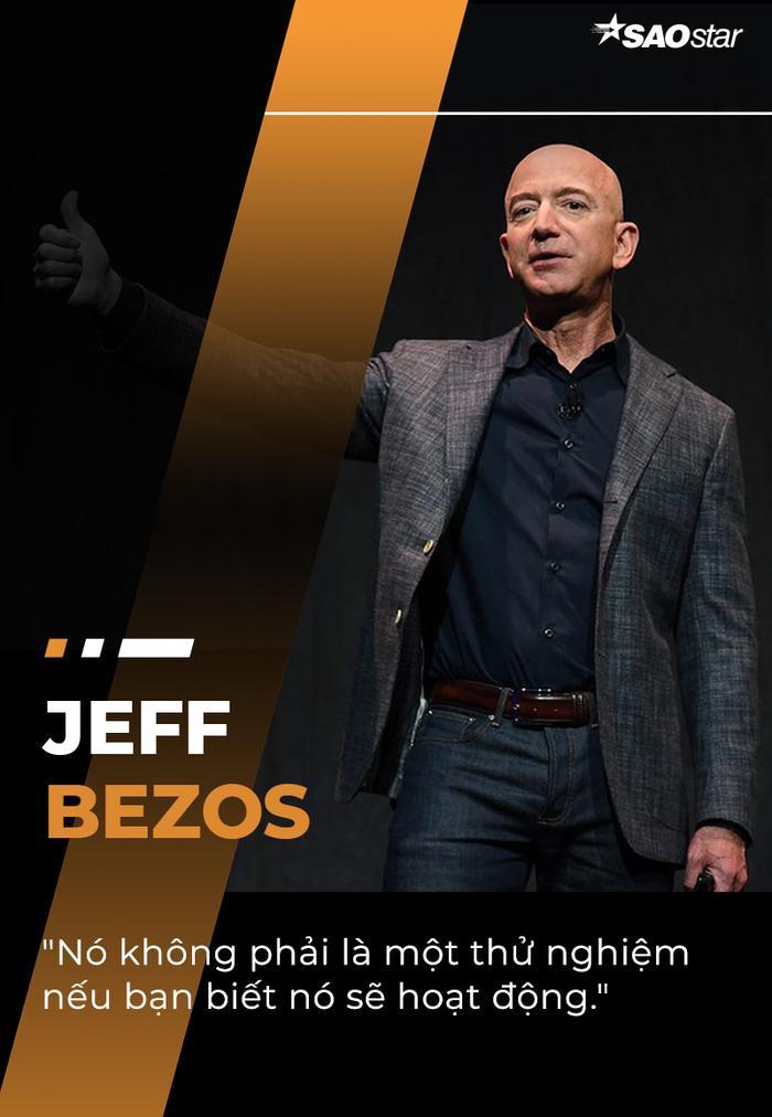 10 câu nói truyền cảm hứng của tỷ phú giàu nhất thế giới Jeff Bezos Ảnh 7