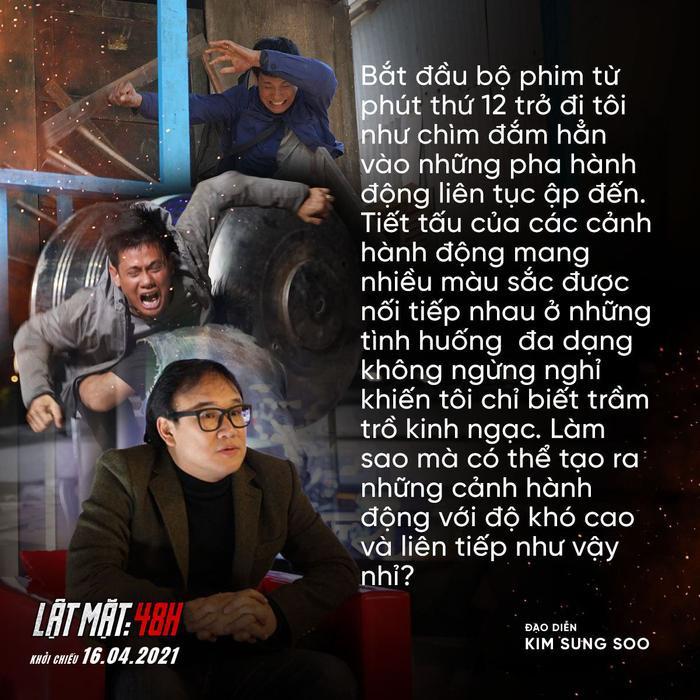 Thêm một đạo diễn nổi tiếng xứ Hàn hết lời khen ngợi bom tấn 'Lật Mặt: 48H' của Lý Hải Ảnh 5
