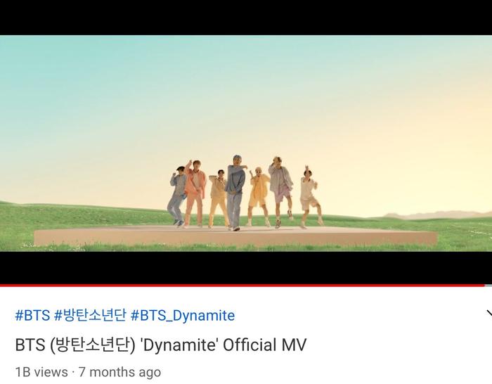 'Dynamite' (BTS) trở thành MV bởi nhóm nhạc Kpop đạt 1 tỷ view nhanh nhất Youtube Ảnh 2