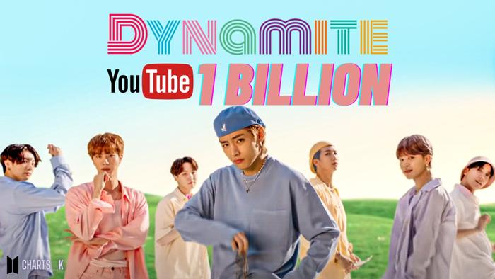 'Dynamite' (BTS) trở thành MV bởi nhóm nhạc Kpop đạt 1 tỷ view nhanh nhất Youtube Ảnh 1