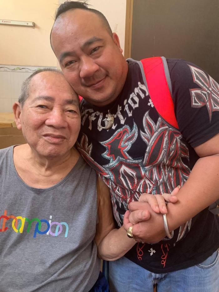 Nghệ sĩ Đức Lang - Bố ruột Hiếu Hiền qua đời sau thời gian dài chống chọi với bệnh tật Ảnh 2