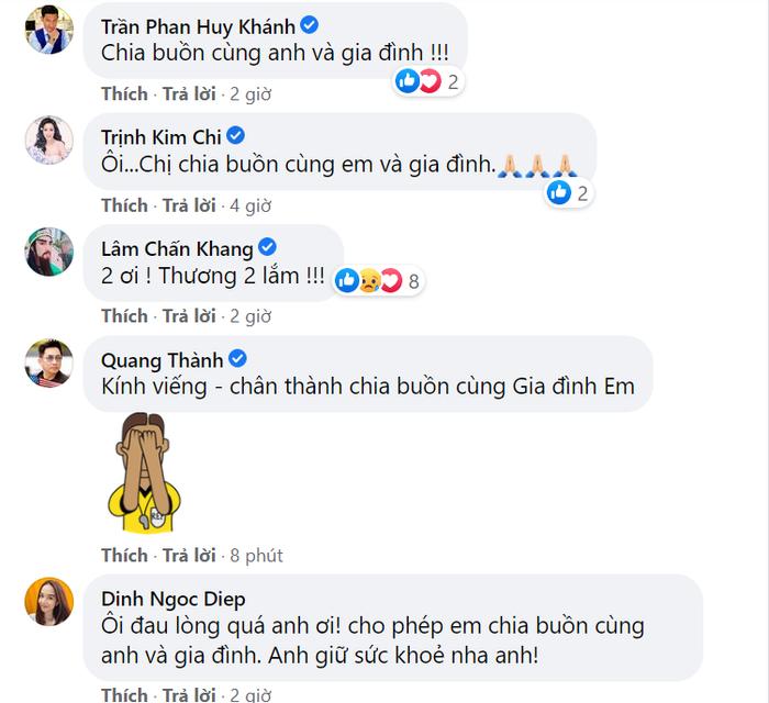 Dàn diễn viên Bỗng dưng muốn khóc cùng nhiều sao Việt đồng loạt chia buồn khi bố ruột Hiếu Hiền qua đời Ảnh 5