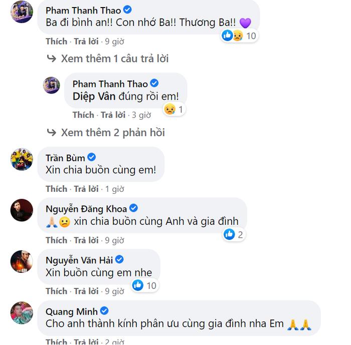 Dàn diễn viên Bỗng dưng muốn khóc cùng nhiều sao Việt đồng loạt chia buồn khi bố ruột Hiếu Hiền qua đời Ảnh 4
