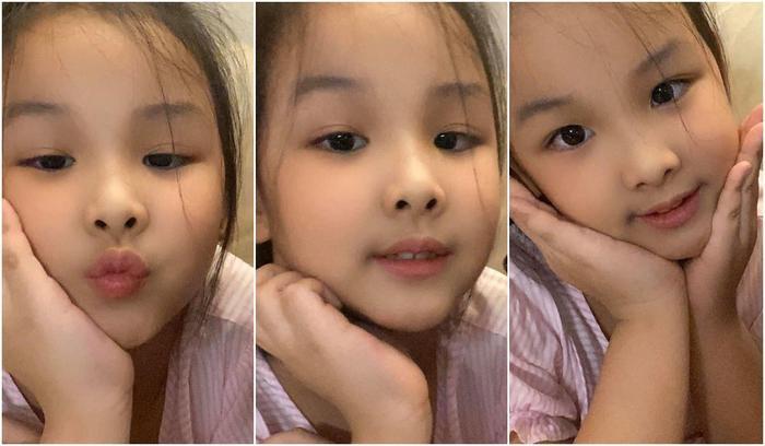 Con gái hoa hậu Thùy Lâm chiếm hết spotlight khi lọt vào livestream của mẹ Ảnh 6
