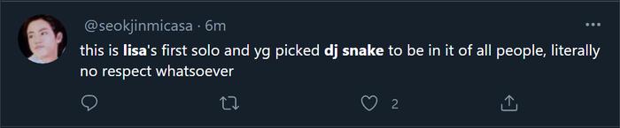 DJ Snake liên tục 'thả thính' collab cùng Lisa, Blink ngán ngẩm: 'Anh ta lại làm trò gì nữa đây' Ảnh 6