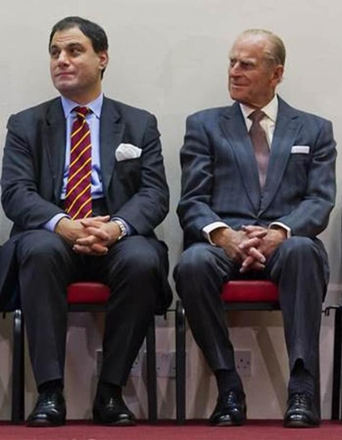 Hoàng thân Philip vẫn đi đôi giày cưới ở nhiều sự kiện quan trọng trong suốt cuộc đời Ảnh 2