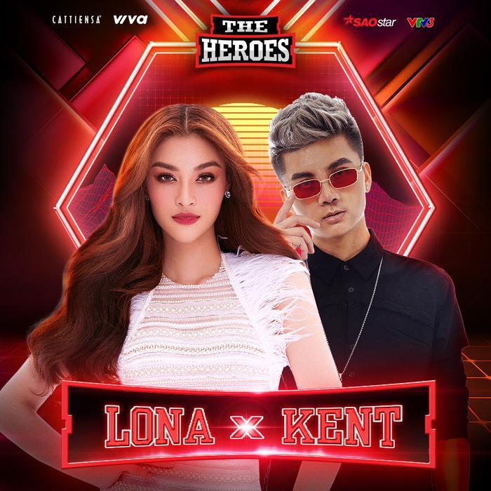 Tân binh V-Pop Lona Kiều Loan 'oanh tạc' sàn đấu The Heroes cùng producer Kent Trần Ảnh 1