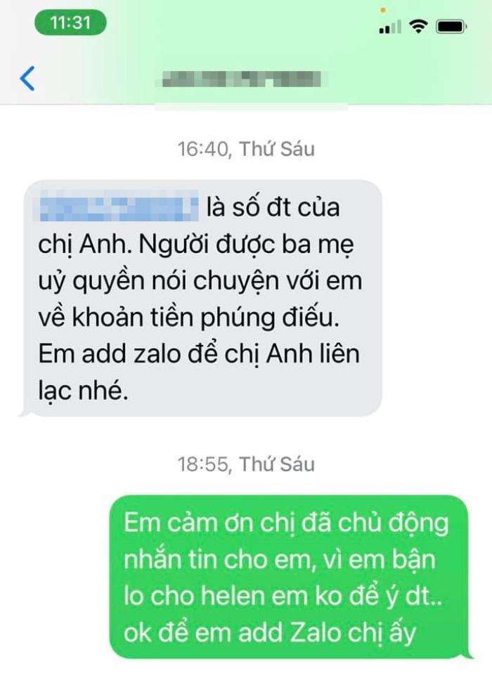 Linh Lan bức xúc nhắc tới vợ cũ Vân Quang Long: 'Yêu cầu Ái Vân không cử thêm bất cứ người nào tới nữa' Ảnh 2