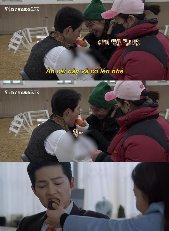 'Vincenzo': Song Joong Ki mê đắm Jeon Yeo Bin khi cô diện trang phục Hanbok Ảnh 4