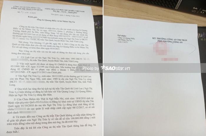 Bố mẹ Vân Quang Long chính thức lên tiếng: Linh Lan giả mạo nhân thân, lừa dối cộng đồng mạng Ảnh 2