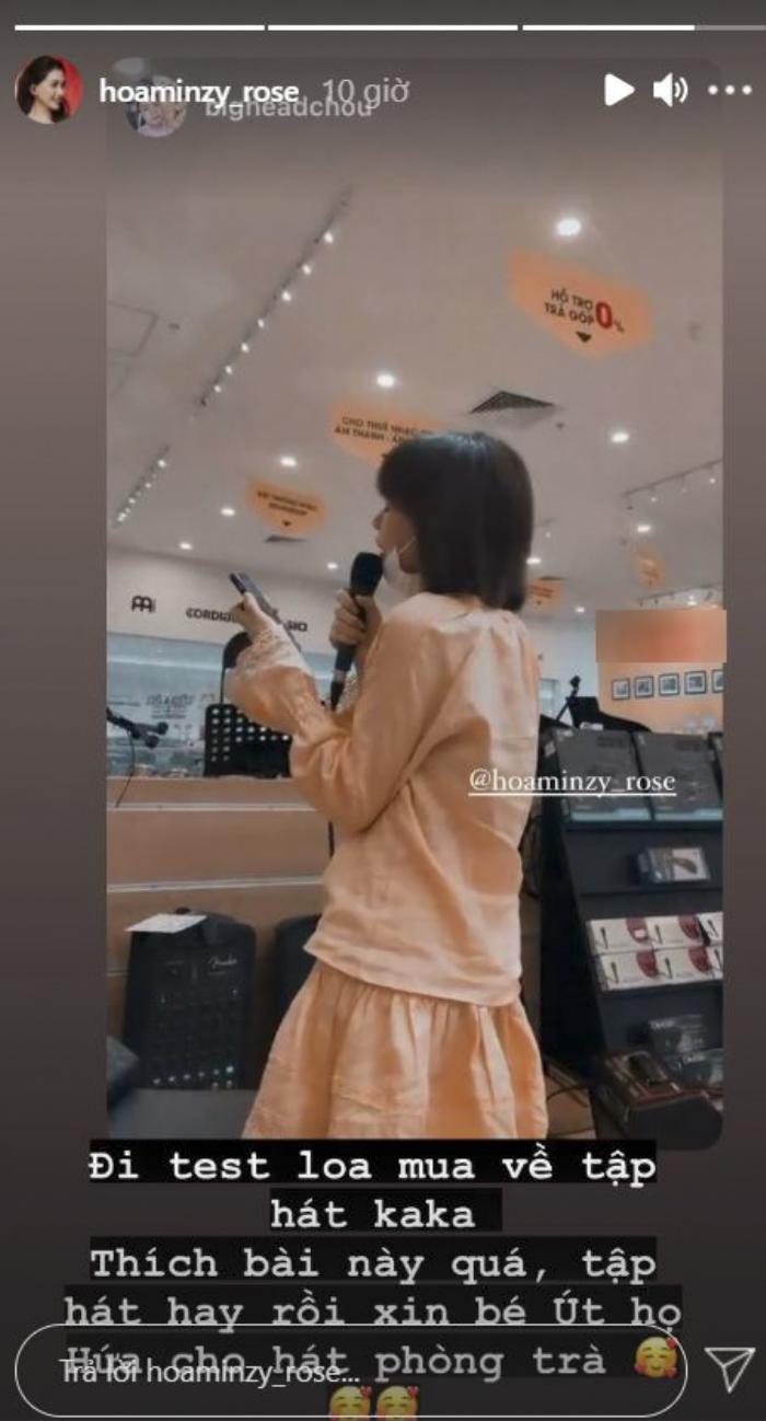 Ngẫu hứng 'test loa', Hòa Minzy có ngay bản cover 'Sài Gòn đau lòng quá' cực xịn xò Ảnh 6