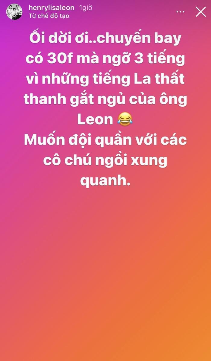 Hồ Ngọc Hà 'mừng xỉu' vì cậu út Leon đã không còn làm mẹ 'đội quần' khi đi máy bay Ảnh 2