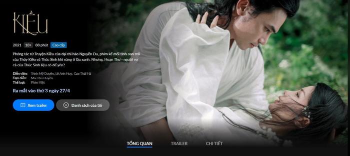 Sợ thua lỗ nặng, phim 'Kiều' vội vàng chiếu mạng sau chưa đầy 3 tuần ra rạp Ảnh 2