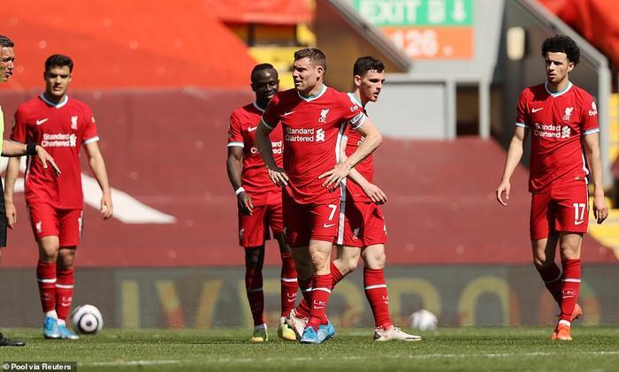 Liverpool đánh rơi điểm, Klopp nói lời cay đắng Ảnh 1