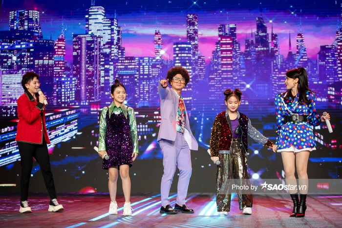 Hồ Hoài Anh - Lưu Hương Giang cùng 2 trò cưng Thùy Trang - Hà Anh mang vũ điệu Daddy Cool khuấy đảo chung Ảnh 6