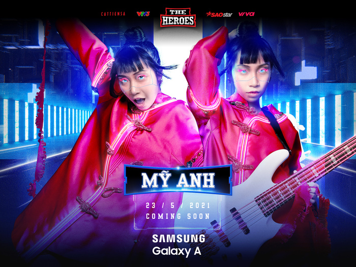 Ca sĩ Gen Z kiêm Producer - Mỹ Anh chọn hình tượng chiến binh Raya tại The Heroes 2021 Ảnh 1