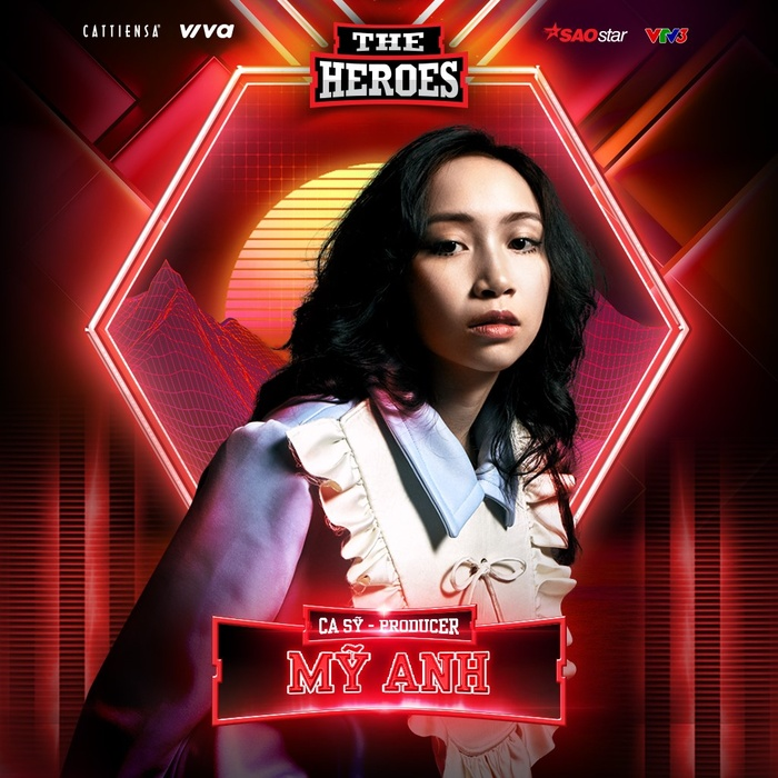 Ca sĩ Gen Z kiêm Producer - Mỹ Anh chọn hình tượng chiến binh Raya tại The Heroes 2021 Ảnh 3