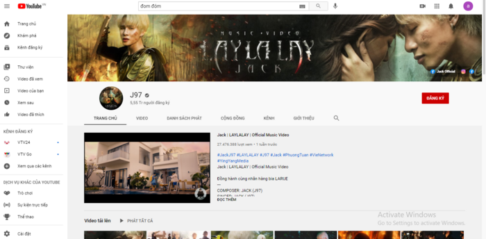 Đom đóm vừa cán mốc 100 triệu view, kênh Youtube của Jack lại lập thêm thành tích mới Ảnh 3