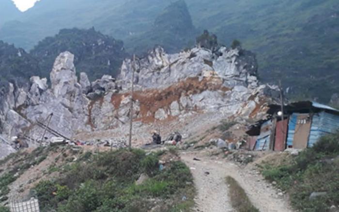 Hai người đàn ông nghi bị bạn nhậu sát hại, phi tang xác tại bãi khai thác đá ở Hà Giang Ảnh 1
