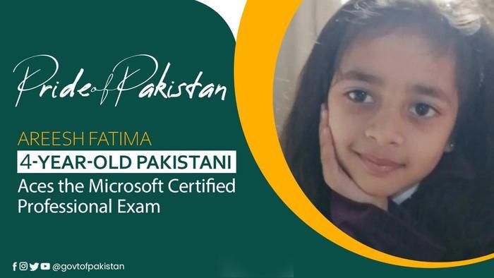 Cô bé 4 tuổi lập kỷ lục thế giới khi giành được chứng nhận chuyên gia của Microsoft Ảnh 1