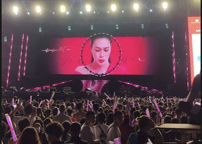 Mỹ Tâm tình tứ cùng Hà Anh Tuấn, nhắc về người yêu cũ trên sân khấu Tri âm Ảnh 1