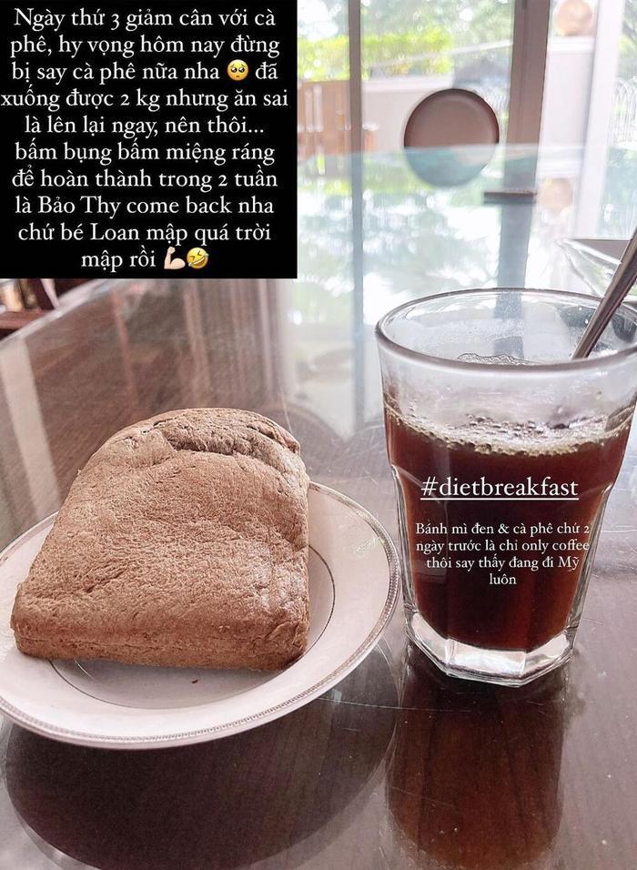 Bảo Thy cảnh tỉnh fan hâm mộ tác hại của việc siết cân bằng cà phê Ảnh 3