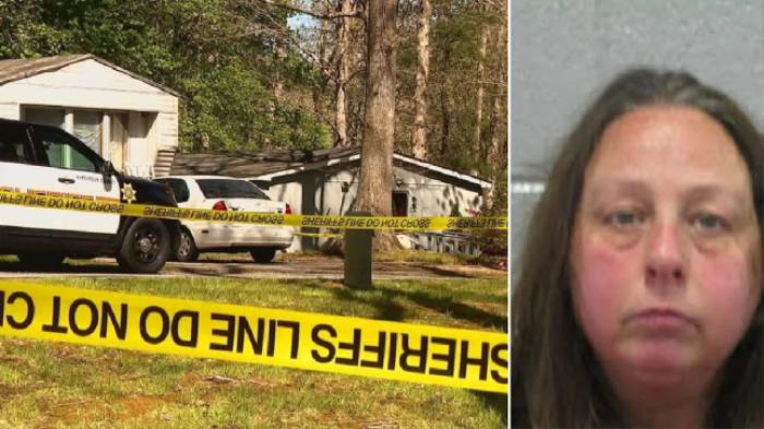 Đâm chết con gái 5 tuổi xong, mẹ thản nhiên qua nhà hàng xóm ngủ, bộ dạng khiến ai cũng khiếp vía Ảnh 1