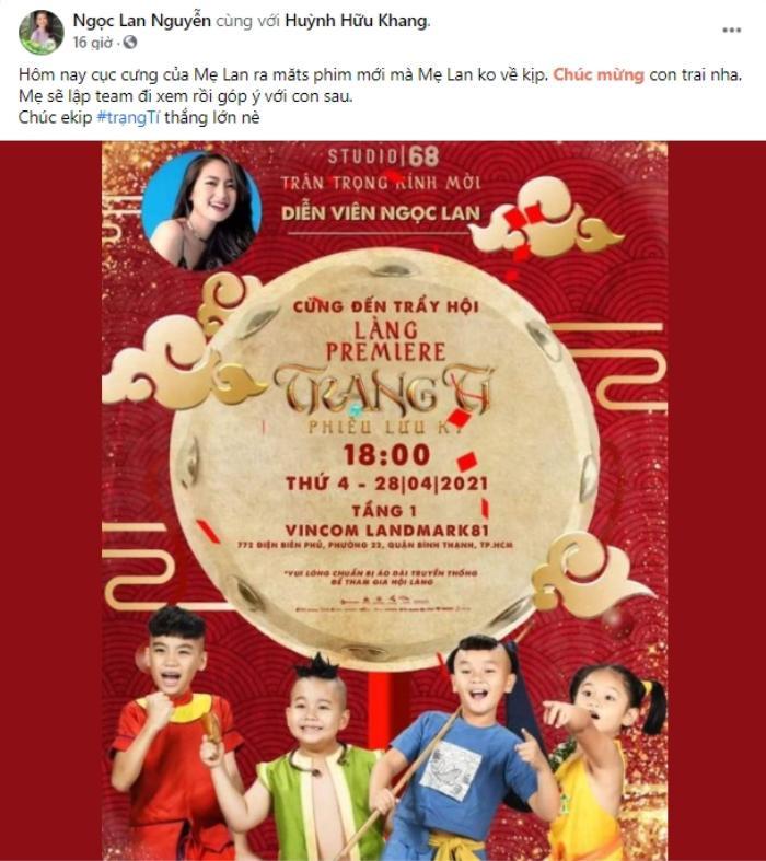 Vài nghệ sĩ hiếm hoi ủng hộ 'Trạng Tí' trước ngày phim ra rạp: Tóc Tiên là người có tâm nhất! Ảnh 10