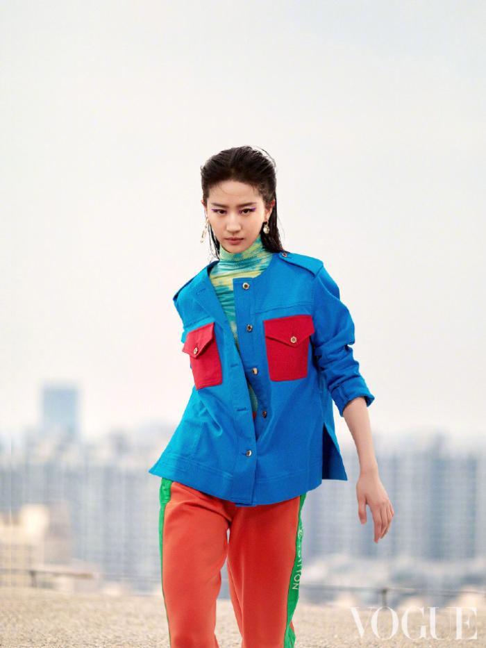 Không còn quê mùa, Lưu Diệc Phi mang đậm thần thái high fashion trên bìa tạp chí Vogue China Ảnh 7