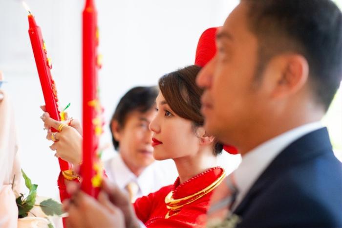 Nam diễn viên 'Cổng mặt trời' bất ngờ kết hôn ở tuổi 41, chật vật ngày đón dâu Ảnh 2