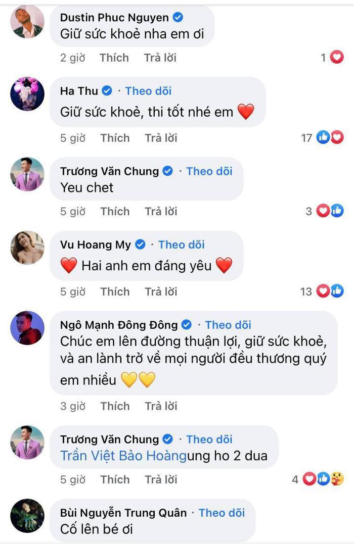 NSƯT Hồng Vân, Võ Hoàng Yến, Minh Tú, H'Hen Niê cổ vũ Khánh Vân thi Miss Universe 2020 Ảnh 7