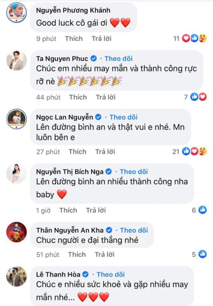 NSƯT Hồng Vân, Võ Hoàng Yến, Minh Tú, H'Hen Niê cổ vũ Khánh Vân thi Miss Universe 2020 Ảnh 8