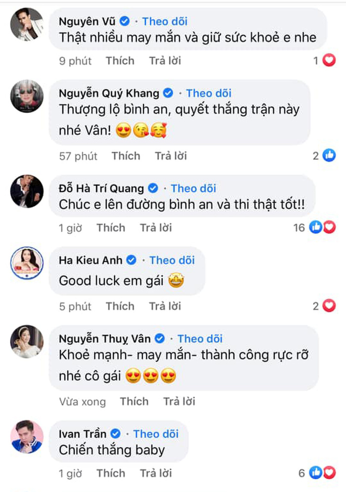 NSƯT Hồng Vân, Võ Hoàng Yến, Minh Tú, H'Hen Niê cổ vũ Khánh Vân thi Miss Universe 2020 Ảnh 13