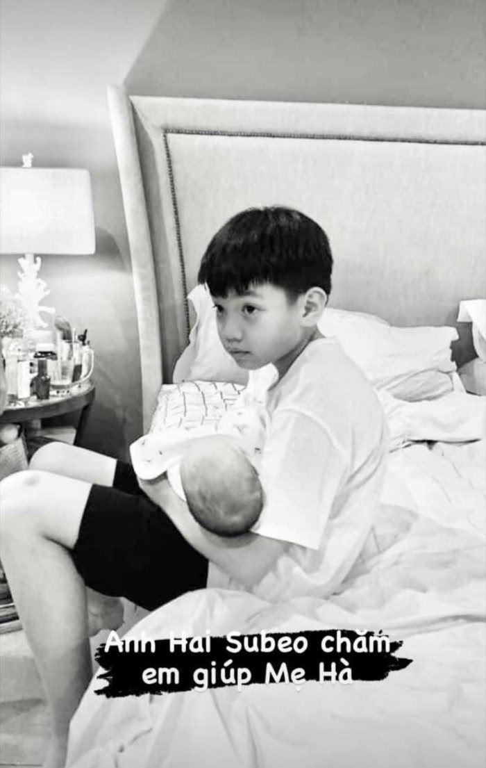 Subeo rửa siêu xe cho bố Cường Đô la trước khi qua nhà mẹ Hà Hồ chơi với 2 em Lisa - Leon? Ảnh 6