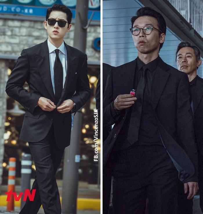 Jeon Yeo Bin, Song Joong Ki, Taecyeon, Kwak Dong Yeon là những 'cây hài' của 'Vincenzo' Ảnh 10