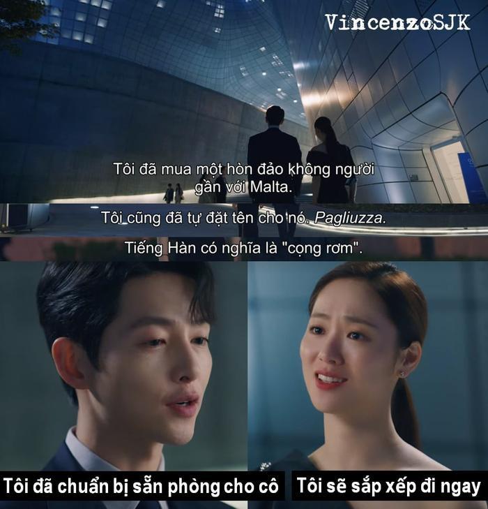 Jeon Yeo Bin, Song Joong Ki, Taecyeon, Kwak Dong Yeon là những 'cây hài' của 'Vincenzo' Ảnh 18