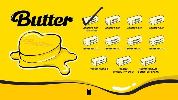 Suga bí ẩn, Jin đẹp như tượng tạc trong teaser mới của 'Butter' Ảnh 2