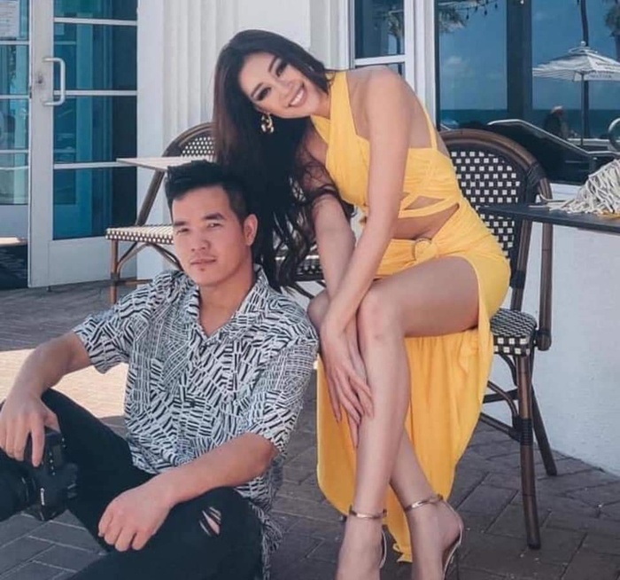 Khánh Vân khoe body hot 100 độ C, fan lóa mắt vì chiếc váy cắt xẻ cực gắt Ảnh 5