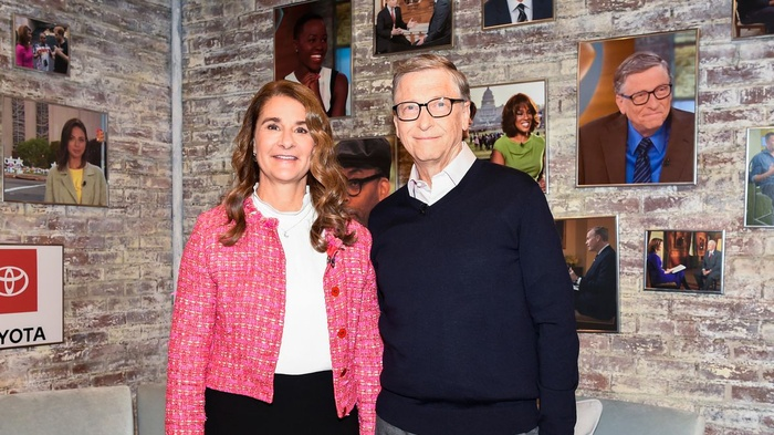 Sau thông báo ly hôn, vợ chồng tỷ phú Bill Gates bắt đầu phân chia khối tài sản 145 tỷ USD Ảnh 1