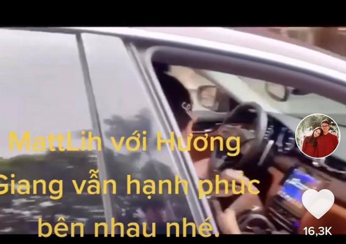 Để lộ clip Matt Liu chở Hương Giang trên xế hộp, nhưng sự thật lại khiến nhiều người giật mình Ảnh 3