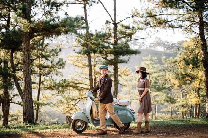 'Phát ngất' với bộ ảnh Lương Bằng Quang mặc váy cúp ngực nằm giữa vườn cẩm tú cầu Ảnh 1