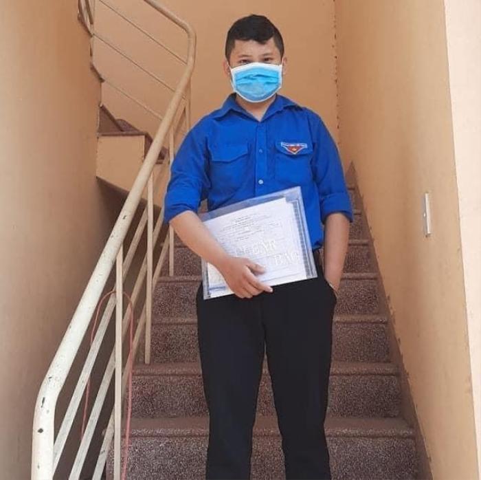 'Thưa mẹ, con đi': Câu chuyện mẹ con cảm động của tình nguyện viên chống dịch ở Đà Nẵng Ảnh 2