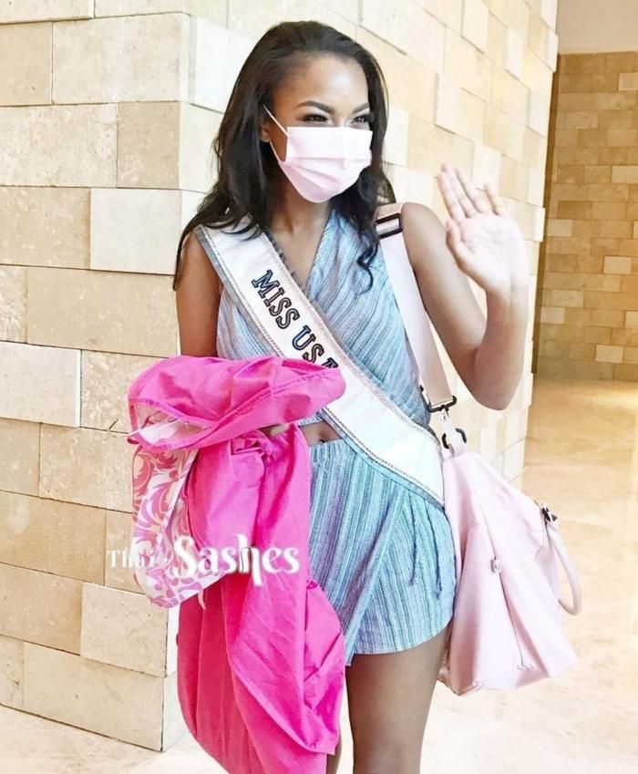 Người đẹp chủ nhà Mỹ bị chê ăn diện tềnh toàng, chìm nghỉm giữa dàn mỹ nhân Miss Universe Ảnh 3