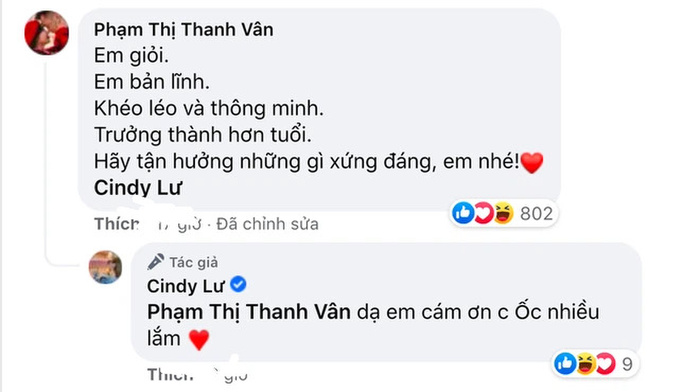 Ốc Thanh Vân động viên vợ cũ Hoài Lâm giữa thời điểm nhạy cảm khiến dân mạng tranh cãi nảy lửa Ảnh 3