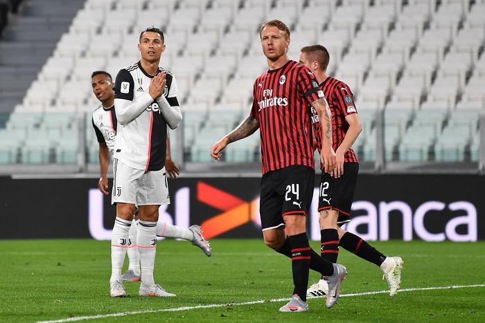 Ronaldo bất lực, Juventus bị AC Milan đánh bật khỏi Top 4 Ảnh 1