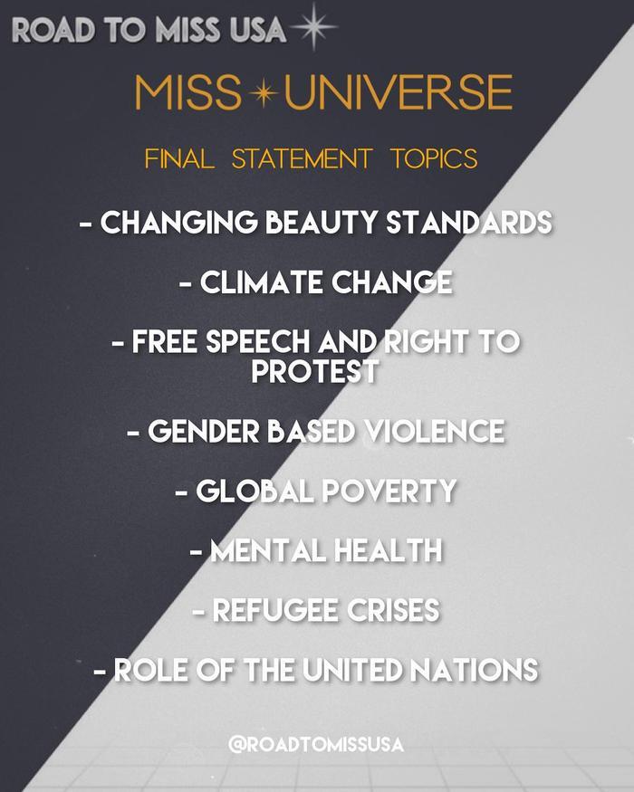 8 chủ đề hùng biện cực gắt cho Top 5 Miss Universe: Khánh Vân đã sẵn sàng lan tỏa trái tim yêu thương? Ảnh 3