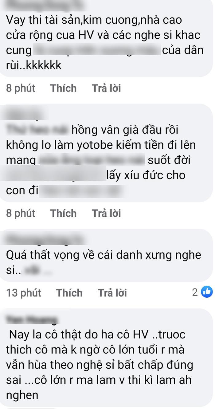 Xôn xao cuộc trò chuyện của NSND Hồng Vân và một đạo diễn 'mỉa mai' bà Phương Hằng: 'Coi mà ngứa mắt' Ảnh 6